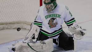 Could Aaron Dell Break UND's NHL Goalie Drought? – University of ...