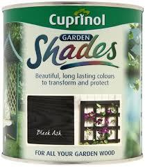 Cuprinol 1l Garden Shades Black Ash Amazon Co Uk Diy Tools