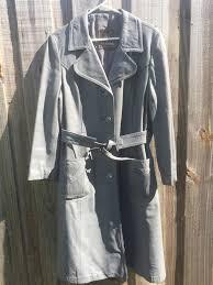 womens leather duster 24k dan di modes