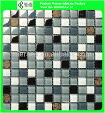 crystal clear glass tiles disco wall