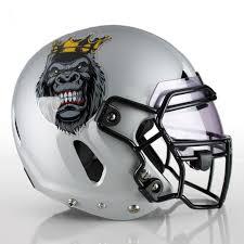 3 Color Custom Football Helmet Decals Healy Awards
