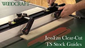 Jessem Clear Cut Precision Stock Guides For Table Saws 04301