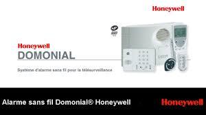 alarme honeywell domonial alarme