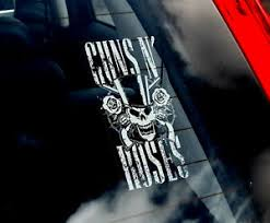 Guns N Roses Car Window Sticker Axl Rose Rock Music Sign Art Decal Gift V01 Ebay