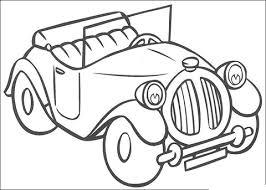 Noddy S Auto Kleurplaat Gratis Kleurplaten Printen