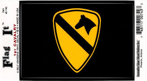 1st Cavalry Division Shield Car Decal Sticker Pre Pack Vinyl Decals Car Decals Stickers