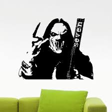 Corey Taylor Slipknot Stickers For Living Room Home Decor Vinilos Paredes Muursticker Vinyl Wall Decal Art Poster Wallpaper A306 Stickers For Sticker For Living Roomposter Wallpaper Aliexpress
