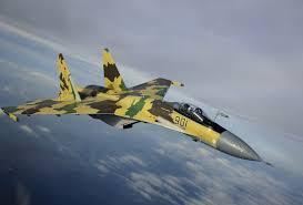 fighter aircraft plane sukhoi su 35