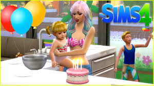 Sims 4 Bebe Goldie Primer Fiesta De Cumpleanos Titi Plus Espanol