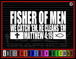 Fisher Of Men Christian Vinyl Car Window Sticker Decal Noizy Graphics Christian Apparel Decals Frames More