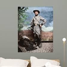 Confederate Army Colonel John Wall Decal Design 2 Wallmonkeys Com