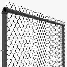 Chain Link Fence 3d Model 26 Max Obj 3ds Ma C4d Free3d