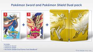 Amazon.com: Pokemon Sword and Shield Dual Edition (Nintendo Switch ...