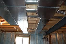 basement framing drywall ceiling
