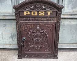 Fence Mailbox Etsy