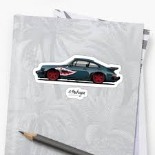 Porsche 911 Gt2 Wall Sticker Removable Vinyl Quote Decal Canvas Auto