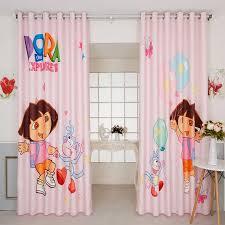 Custom Made 2x Grommet Window Drapery Curtain Nursery Kids Girl Children Room Window Dressing Tulle 200 X 260cm Princess Pink Curtains Aliexpress