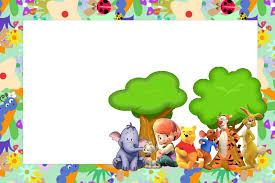 Tarjetas De Cumpleanos Winnie Pooh Para Imprimir Para Fondo De