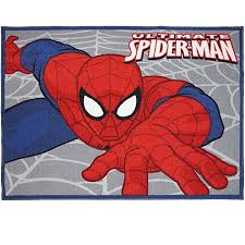 Multicolor Marvel Spiderman Rug Hd Digital Kids Bedding Wall Decals Room Decor Area Rugs 5x7 X