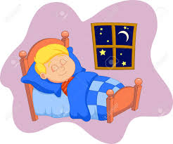 Asleep In Bed Clipart