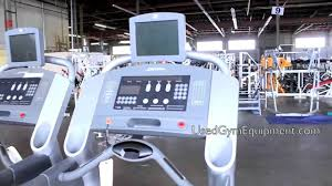 used life fitness 95ti with lcd tv