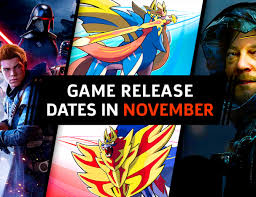 November Game Release Dates Of 2019: PC ...