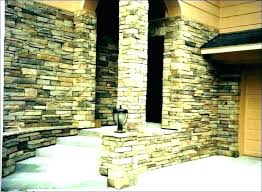 interior faux stone panels indoor wall