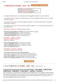 appunti di grammatica inglese - 1 - Docsity