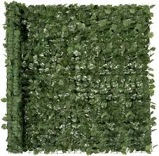 Amazon Com Best Choice Products Outdoor Garden 94x59 Inch Artificial Faux Ivy Hedge Leaf And Vine Privacy Fence Wall Screen Green Garden Outdoor