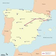 Ferrovia ad alta velocità Madrid-Barcellona-Confine francese ...