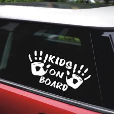 Rylybons Car Body Window Vinyl Car Sticker Kids On Board For Motorcycle Children Car Styling Car Stickers And Decals Accessories Car Stickers Aliexpress