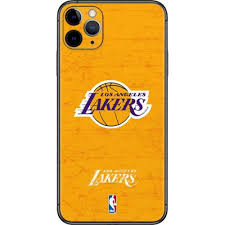 Los Angeles Lakers Gold Primary Logo Iphone 11 Pro Max Skin Nba