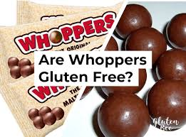 are whoppers gluten free glutenbee