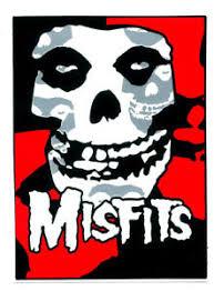 Misfits Decals Skull Black Red Music Rock Punk Window Decal Vinyl Sticker 38z Ebay