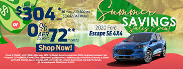 monthly specials moon township ford