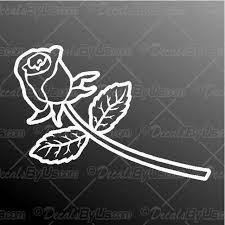 Save Now On Rose Decal For Car Windows
