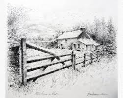 Original Drawings In Pencil Desmond Mccarthy