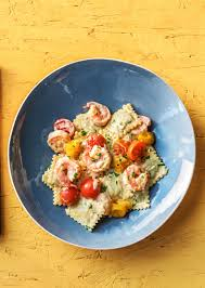 Lobster Ravioli and Shrimp Recipe ...