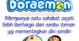 kata kata mutiara cinta persahabatan doraemon