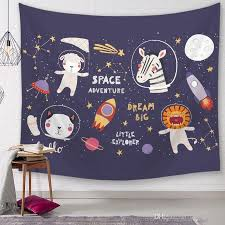 Cartoon Animals Tapestry For Kids Room Sweet Dreams Bedroom Wall Hanging Decor Baby Children Bedroom Carpet Mural Tapestry Solutions Tapestry Throws From Sunrise5795 7 64 Dhgate Com