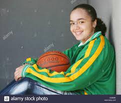 Felicia Anderson, a member of the Eastside Prep basketball team in ...