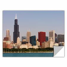 Artwall Chicago By Cody York Photographic Print Removable Wall Decal Wayfair