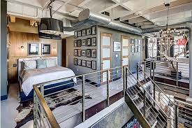 2 story loft in corner of hollywood