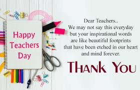 inspirational messages for teachers day thank you words for teachers