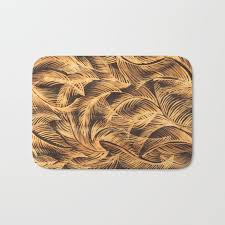 bleach bath mat by rexiray society6