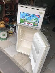 TỦ lạnh TOSHIBA quạt gió - xài tốt lắm - chodocu.com
