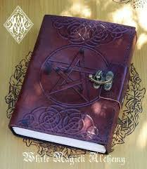 book of shadows journal leather book