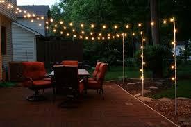 types of patio lights backyard
