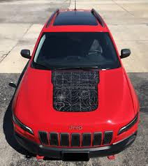 2019 2020 Jeep Cherokee Latitude Vinyl Hood Decal Sticker Graphic Stripe Ebay