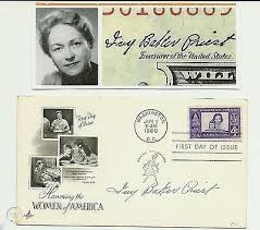 IVY BAKER PRIEST - GENUINE VINTAGE HAND SIGNED FIRST DAY COVER  1960..PRISTINE... | #477704660
